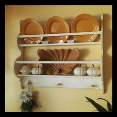 A great plate rack.
