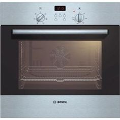 Bosch HBN531E2B Classixx Electric Built-in Single Fan Oven - Brushed Steel