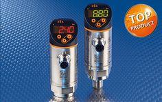 Sensor de pressão PN com maior conforto de configuração e visualização aprimorada