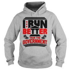 I run better than the government running 1116