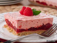 Raspberry Icebox Cake | mrfood.com  http://www.mrfood.com/Cakes/Raspberry-Icebox-Cake