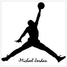 "Amazon.com: MICHAEL JORDAN ~ WALL DECAL, HOME DECOR 20"" X 20"": Sports & Outdoors"
