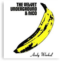 The Velvet Underground: The Velvet Underground & Nico Album Cover Parodies. A list of all the groups that have released album covers that look like the The Velvet Underground The Velvet Underground & Nico album. Greatest Album Covers, Iconic Album Covers, Cool Album Covers, Album Cover Design, Music Album Covers, Music Albums, The Velvet Underground, Andy Warhol, Beatles