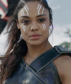 """Tessa Thompson as Valkyrie in """"Thor: Ragnorok"""" Marvel Movie Characters, Marvel Movie Posters, Avengers Poster, Marvel Movies, Anime Characters, Fictional Characters, Marvel Room, Marvel Fan, Marvel Heroes"""