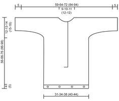 """DROPS Baby 19-10 - Perlestrikket DROPS kørepose uden ærmesøm med strukturmønster og snoninger i """"Merino Extra Fine"""". - Free pattern by DROPS Design"""