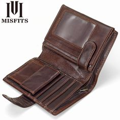 Men Wallet Genuine Leather  Price: 1422.0 & FREE Shipping  #hashtag1