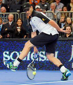 Andy Roddick.  BNP Paribas Showdown, February 2012.  #tennis