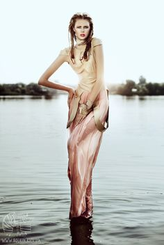 on the water...The Source by Viktoria Bolkina, via Behance