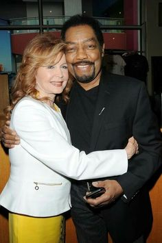 Suzanne Rogers (Maggie) and James Reynolds (Abe) #Daysofourlives #DOOL (via soap opera digest)