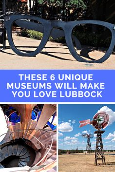 unique museums for your next road trip to Lubbock and the Texas Panhandle.Six unique museums for your next road trip to Lubbock and the Texas Panhandle. Texas Roadtrip, Texas Travel, Road Trip Usa, California Travel, Travel Usa, Travel With Kids, Family Travel, Family Camping, Camping Tips