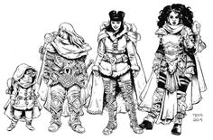 Rat Queens by Tess Fowler