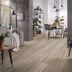 #pvc #ambiant #homedeco #huisinspiratie #huiskamer Hardwood Floors, Flooring, Dining Table, House Design, Furniture, Home Decor, Wood Floor Tiles, Wood Flooring, Decoration Home
