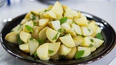 Al Roker's light take on potato salad is brightened with lemon and mint