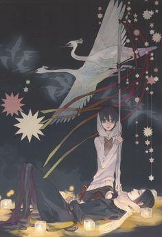 Nabari no Ou - Miharu & Yoite Manga Anime, Manga Boy, Anime Chibi, Anime Art, Devian Art, Manga Comics, Awesome Anime, Anime Style, Comic Art