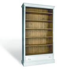 Boekenkast met lade afmeting H 200 cm x B 112 cm x D 41 cm - Inndoors Meubelen en Interieur