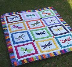 Image result for 3 d dragonfly quilt