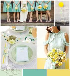 The Perfect Palette: Guest Blogger | Oh Lovely Day | Yellow + Mint