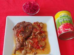 Lulu - Povesti din Bucatarie: Iepure la cuptor cu ciuperci Tacos, Mexican, Beef, Ethnic Recipes, Food, Meat, Essen, Meals, Yemek
