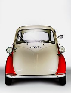 BMW Isetta. I would love to have one.