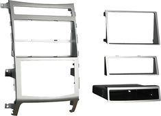 Metra - Dash Kit for Select 2007-2012 Hyundai Veracruz Limited - Silver