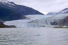 Postcard from Alaska - Mendenhall Glacier