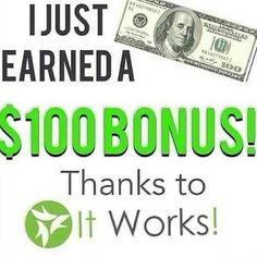 Boom.boom. #boom #itworks406 #takingkidsout #tonight! #bonus #weekly fourohsixx@gmail.com