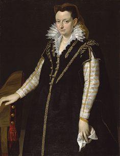 Portrait of a Lady ca. 1580-1589 Scipione Pulzone (Italian, before 1550-1598) (Artist)