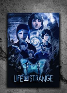 'Life is Strange - Cinematic Poster' Poster by Trey Anderson Life Is Strange Wallpaper, Life Is Strange 3, Chloe Price, Different Kinds Of Art, Butterfly Effect, Facial Expressions, Fandoms, Videogames, Pop Culture