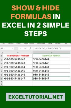 When you will have a sheet full of Excel formulas, you will also need to quickly check how each formula looks like because I really do want to see. This will be good if you want to do spreadsheet auditing. It is easy to do in your Excel. Excel Tips, Excel Hacks, Microsoft Excel Formulas, Thing 1, Psychology Books, Schedule Templates, Planner Template, Education Humor, Financial Tips