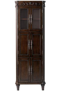 Special Offers - Chelsea 6 door Linen Storage Cabinet 72Hx25Wx14D ANTIQUE CHERRY - In stock & Free Shipping. You can save more money! Check It (September 03 2016 at 06:27PM) >> http://bathroomvanitiesusa.net/chelsea-6-door-linen-storage-cabinet-72hx25wx14d-antique-cherry/
