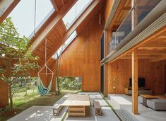 The Designers Envisioning a Bold New Kind of Japanese Architecture - The New Yor. - The Designers Envisioning a Bold New Kind of Japanese Architecture – The New York Times - Architecture Du Japon, Modern Japanese Architecture, Natural Architecture, Concept Architecture, Sustainable Architecture, Architecture Design, Architecture Drawings, Small Japanese House, Japanese Home Design