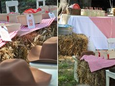 CAKE. | events + design: real parties: red & rustic country farm
