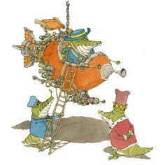 Illustration by Swedish illustrator Mattias Adolfsson for Dance Gavin Dance.