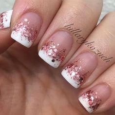 Best French Manicures - 71 French Manicure Nail Designs - Best Nail Art #nailart