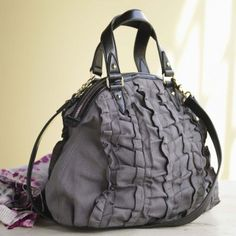 Ruffled Bag #hemp #eco