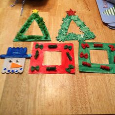 1000 images about preschool christmas on pinterest for Sticky boards for crafts