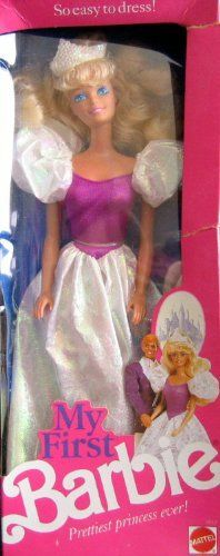 Vintage Collectable Barbie 1989. This literally was my 1st barbie ever. True story.