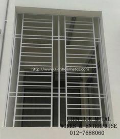 W109 Window Powder Coating Wrought Iron Johor Bahru Jb