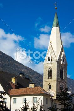 The tower of church Royalty Free Stock Photo