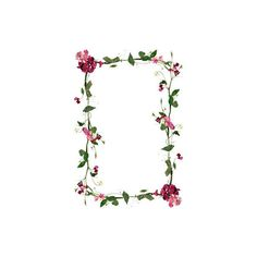Frame ❤ liked on Polyvore featuring frames, backgrounds, borders, flowers, decorations, filler and picture frames