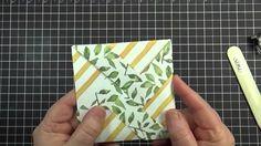pinwheel fold card with DSP