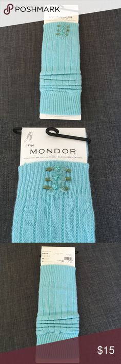 "Blue Taffy Leg warmers. 14"" leg warmers are a fun way to accessorize! Soft and warm 82% acrylic, 18% nylon. Made in Canada. Mondor Accessories Hosiery & Socks"