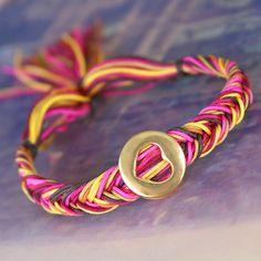 Trend Armbänder machen? Schauen Sie in der Inspiration dieser hippen Kordel!