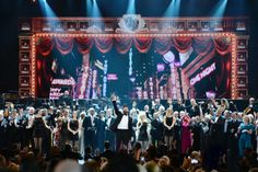 Watching and re-watching the 68th Annual Tony Awards. Absolutely breathtaking performances! Specifically the cast of Hedwig And The Angry Inch, Cabaret and A Gentleman's Guide To Love and Murder. They all deserved to win!! <3