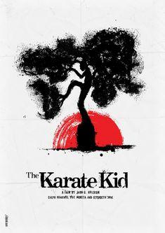 Karate Kid...I've got three karate kids and a karate hubs.  So I <3 karate.