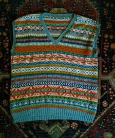 Fairisle pullover for Joe. Dec 2015