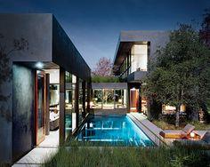 Modern Residential Architecture: Vienna Way Residence by Marmol Radziner