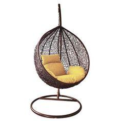 Kreslo BORNEO, PE rattan, hojdacie Borneo, Hanging Chair, Rattan, Interior, Furniture, Design, Home Decor, Wicker, Decoration Home