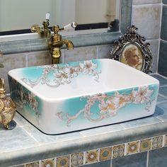 Art Porcelain Bathroom Font B Ceramic B Font . China PaintingChinese  Painting