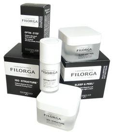 FILORGA PACK : SLEEP & PEEL, OPTIM-EYES et ISO-STRUCTURE - Crèmes de nuit